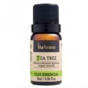 Óleo Essencial 100% Natural 10ml - Tea Tree Melaleuca ( Via Aroma)