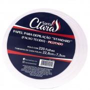 Papel para Depilação Standard (Falso Tecido) Picotado 220 Folhas 22,8cm x 7,3cm (SC)