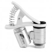 Smart Scope 60x Lente de Aumento para celular - Análise de Pele e Capilar (Estek)