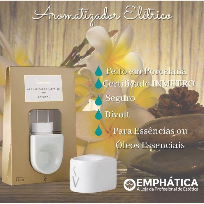 Aromatizador Elétrico Standard Branco Bivolt (Via Aroma)  - Emphática