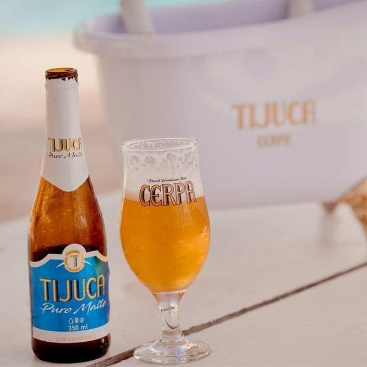 Cerveja Cerpa Tijuca Pilsen 350ml Pack c/4  - Emphática