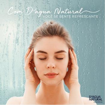 Creme de Massagem Cafeina 7 Ativos 650g (D`Água Natural)  - Emphática