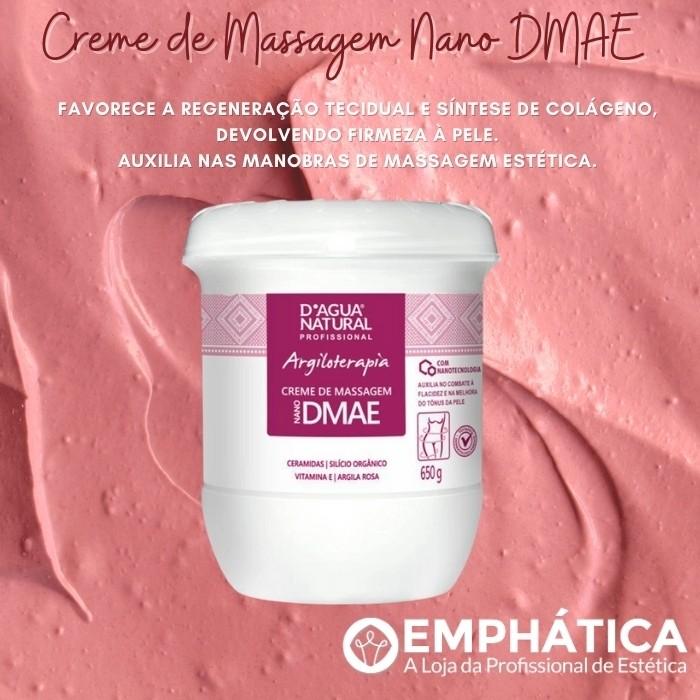 Creme De Massagem Dmae 650g (D`Água Natural)  - Emphática