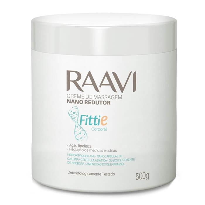 Creme de Massagem Nano Redutor de Medidas Fittie 500g (Raavi)  - Emphática