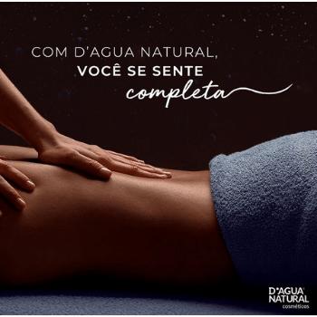 Creme de Massagem Neutro Sem Perfume 650g (D`Água Natural)  - Emphática