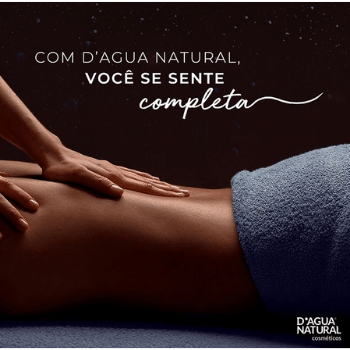 Creme de Massagem Pimenta Negra 650g (D`Água Natural)  - Emphática