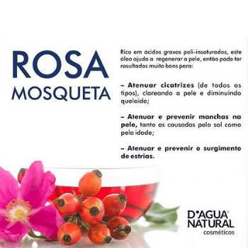 Creme de Massagem Rosa Mosqueta e Argila Branca 650g (D`Água Natural)  - Emphática