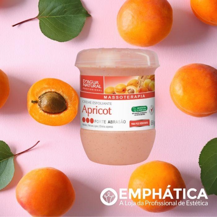 Creme Esfoliante Apricot - Forte Abrasão - 650g (D`Água Natural)  - Emphática