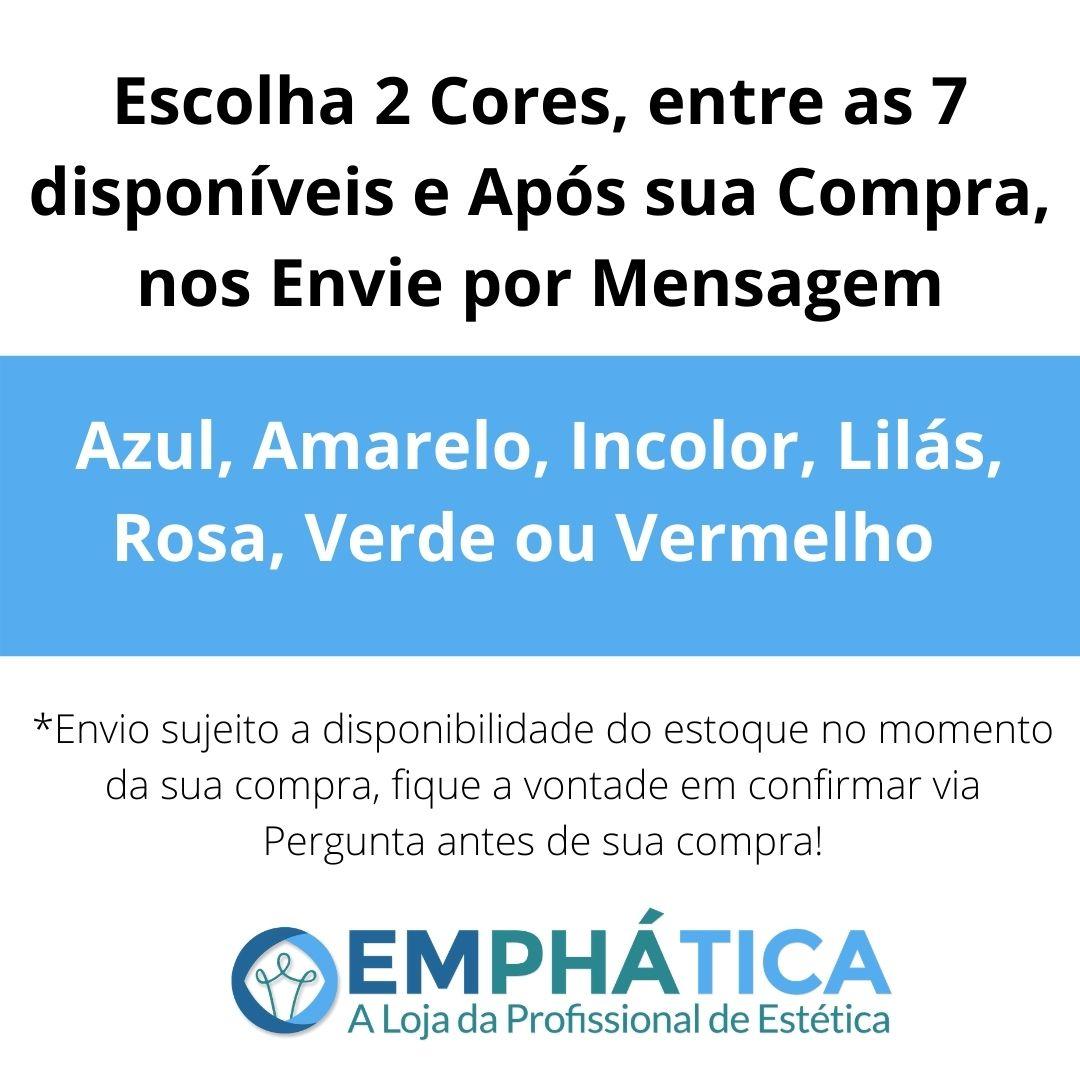 Esfera de Vidro p/ Cromoterapia Pequena kit c/ 2 Cores  - Emphática