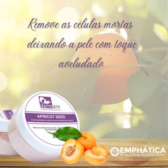 Esfoliante Facial e Corporal Apricot Seed 200g (Dermare)  - Emphática