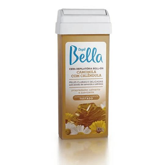 Especial c/5 Cera Depilatória Roll-On 100g Depil Bella - Camomila com Calêndula  - Emphática