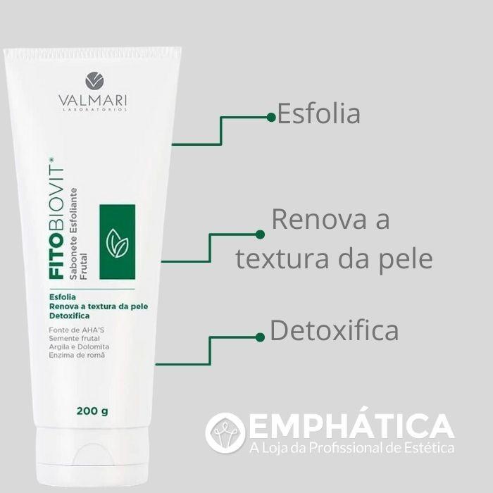 Fitobiovit Sabonete Esfoliante Frutal 200g (Valmari)  - Emphática