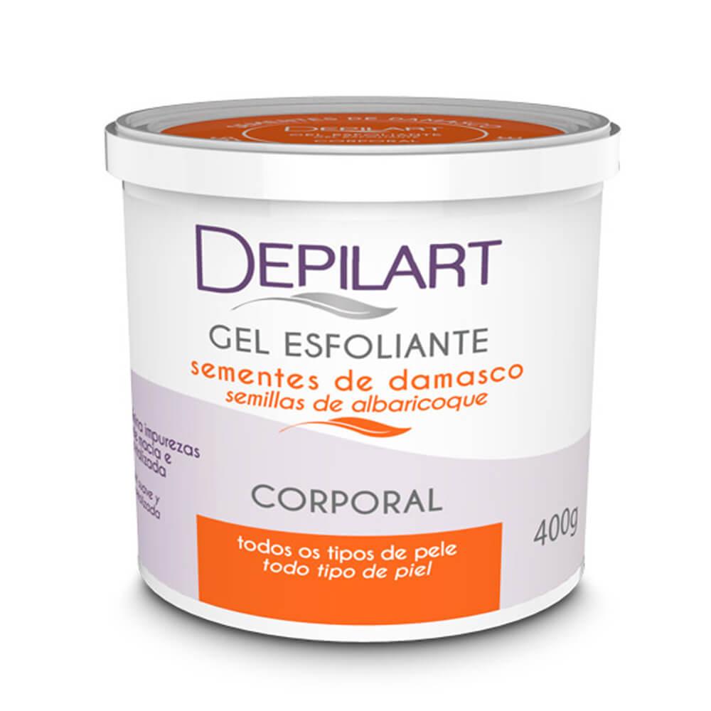 Gel Esfoliante Corporal 400g (Depilart)  - Emphática