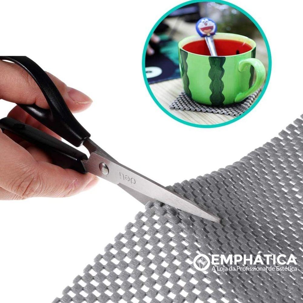 Jogo Americano Anti Derrapante 100% PVC 38cm x 70cm c/4  - Emphática