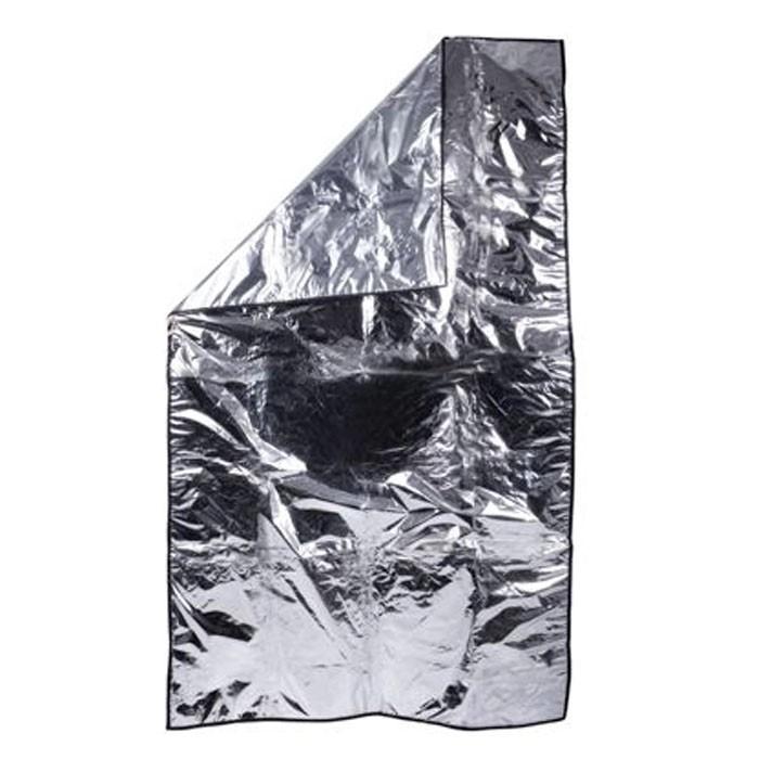 Manta Forrada com Plástico Incolor e Viez 1m x 1,80m  - Emphática