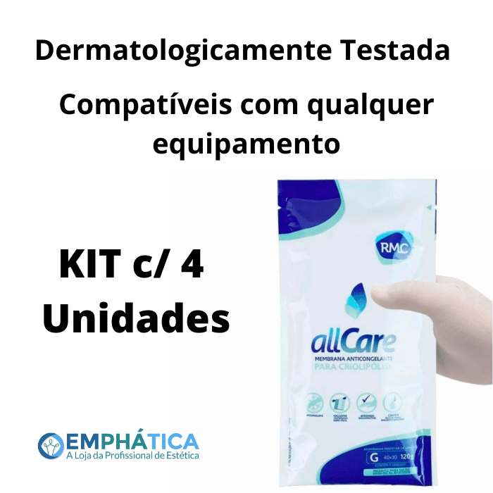Membrana Anticongelante All Care Tam G (RMC) Kit c/ 4 unid  - Emphática