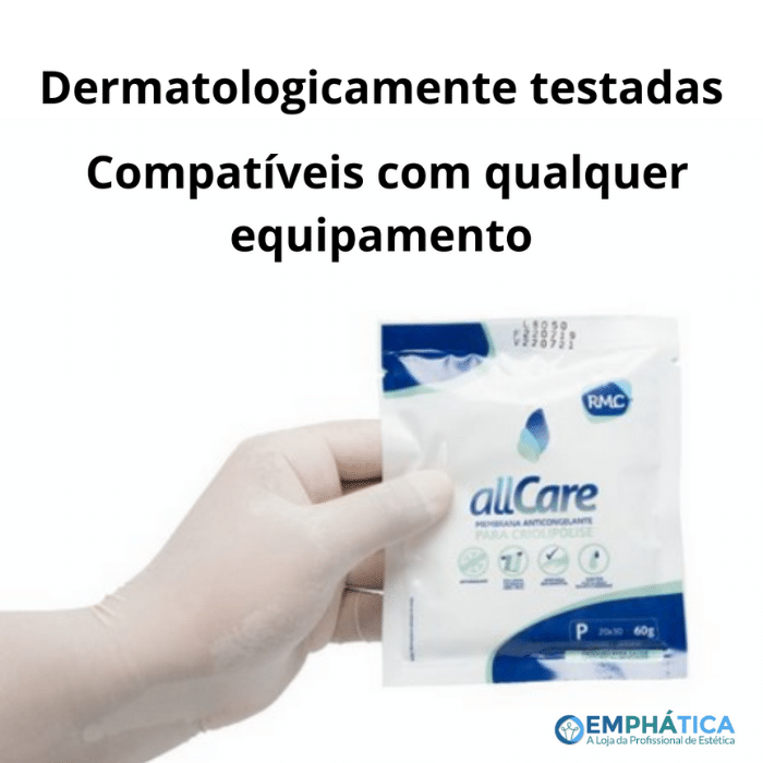 Membrana Anticongelante All Care Tam P (RMC) Kit c/ 4 unid  - Emphática