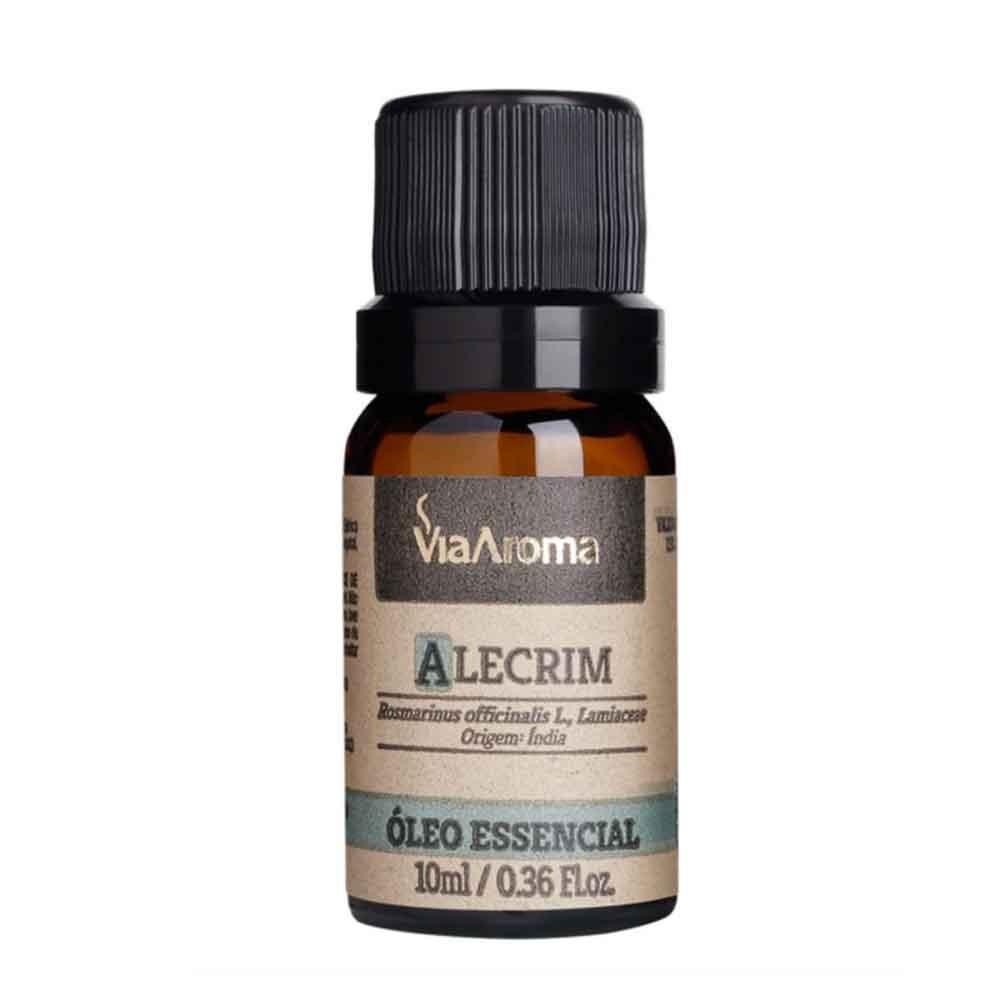 Óleo Essencial 100% Natural 10ml - Alecrim (Via Aroma)  - Emphática
