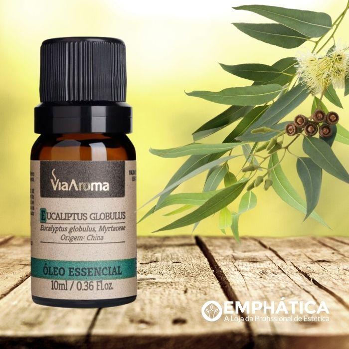 Óleo Essencial 100% Natural 10ml - Eucaliptus Glóbulos (Via Aroma)  - Emphática