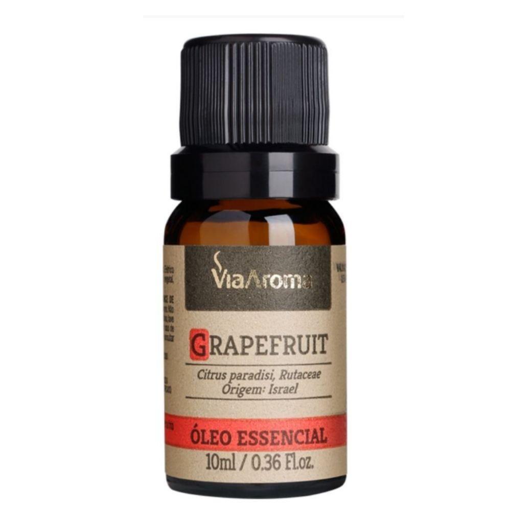 Óleo Essencial 100% Natural 10ml - Grapefruit (Via Aroma)  - Emphática