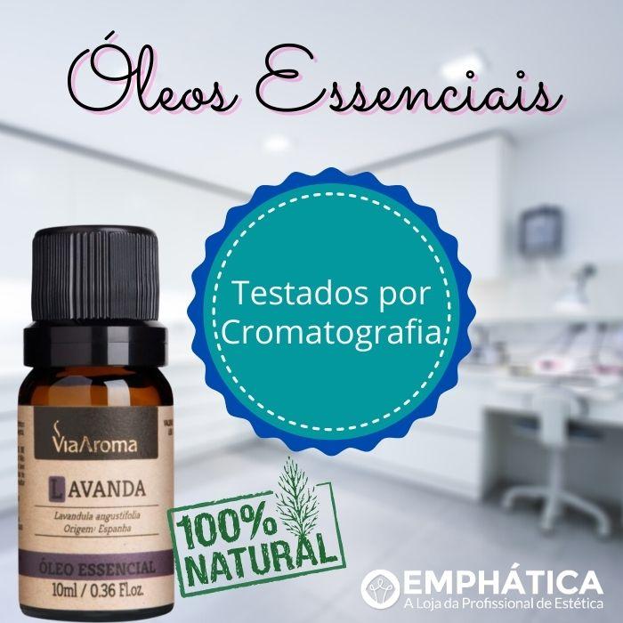 Óleo Essencial 100% Natural 10ml - Lemongrass (Via Aroma)  - Emphática