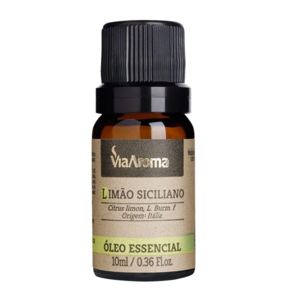 Óleo Essencial 100% Natural 10ml - Limão Siciliano (Via Aroma)  - Emphática