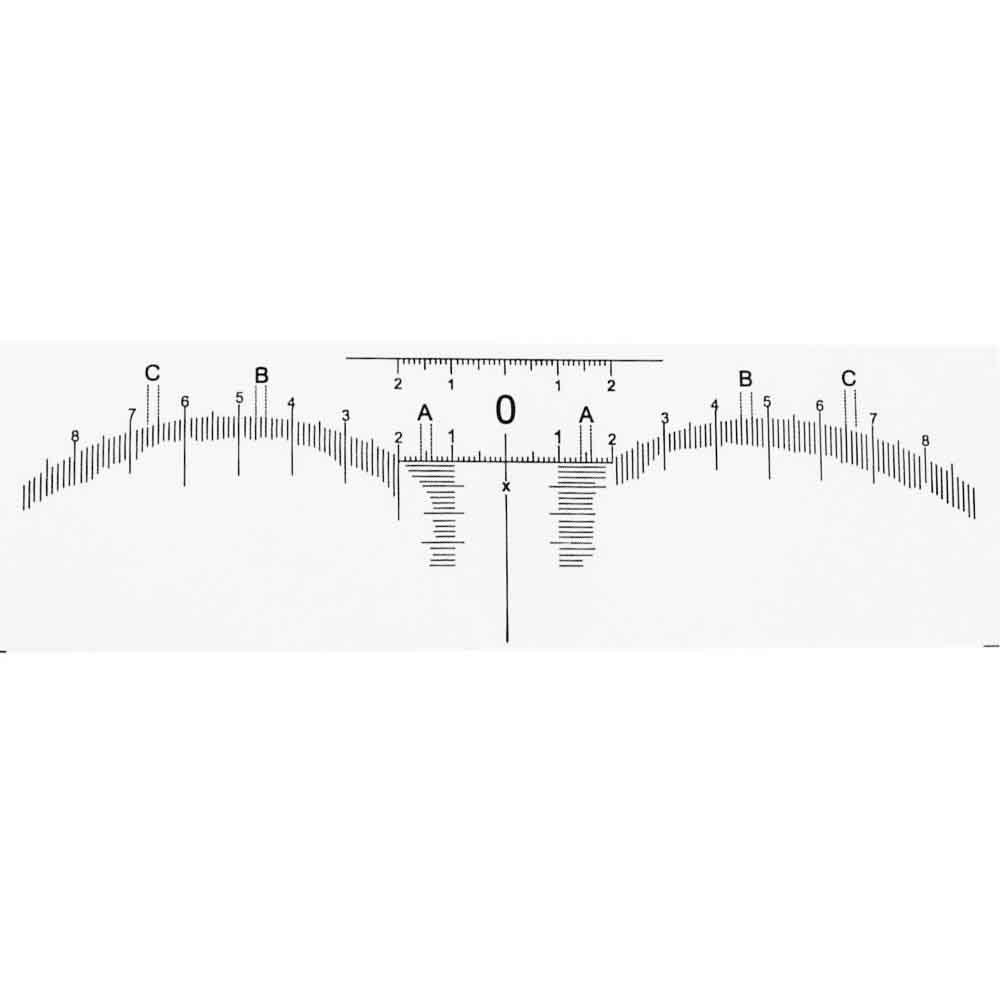 Régua Adesiva para Design de Sobrancelhas com 3 Unidades (SC)  - Emphática