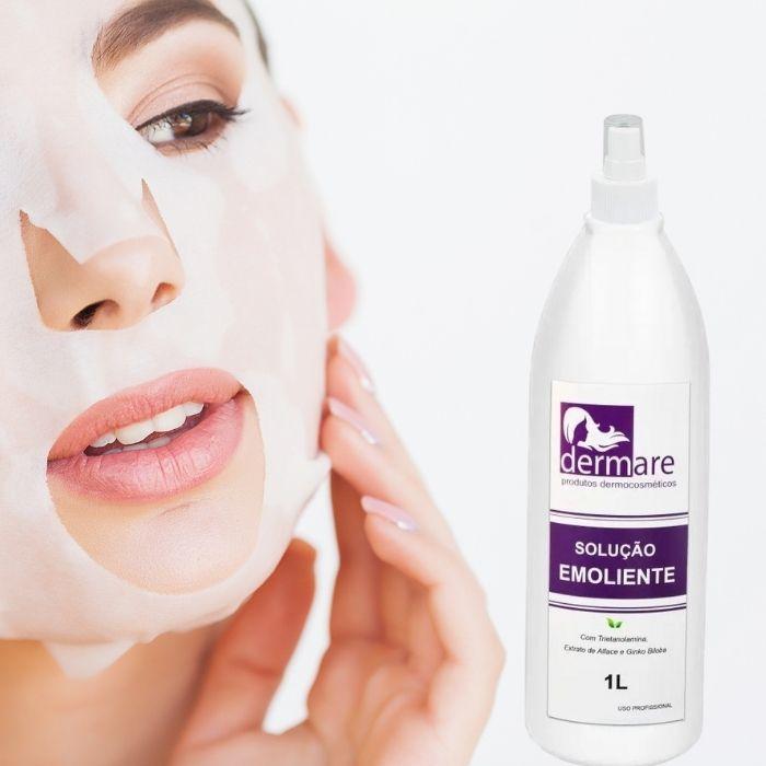 Solução Emoliente - Dilata os Poros 1Litro (Dermare)  - Emphática