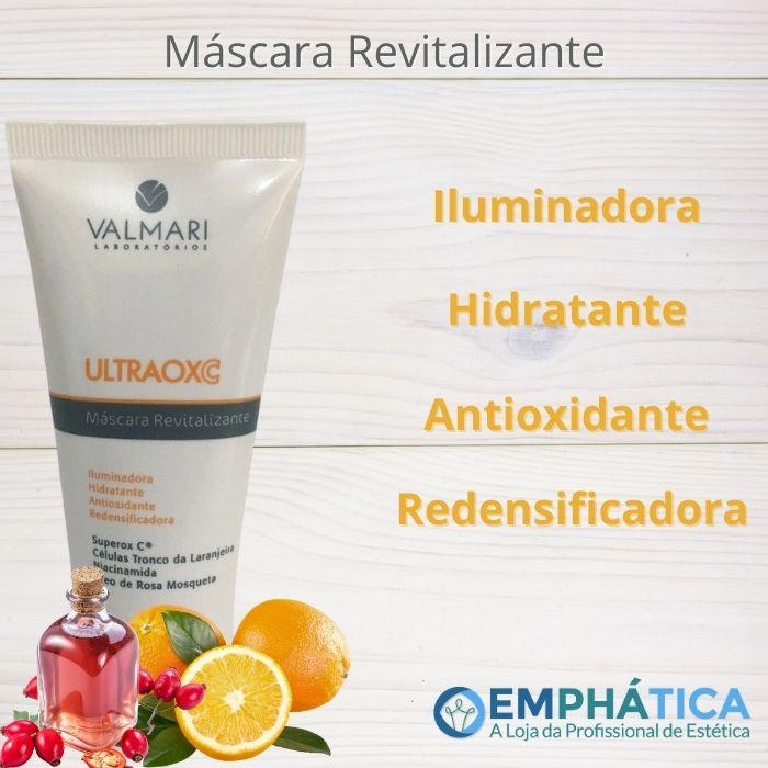 Ultraox C Máscara Revitalizante 100g (Valmari)  - Emphática