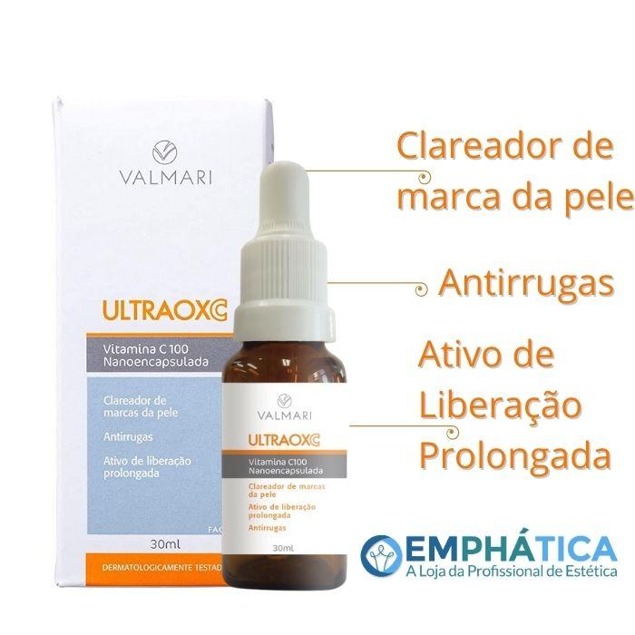 Ultraox C Vitamina C 100 Nanoencapsulada 30ml (Valmari)  - Emphática
