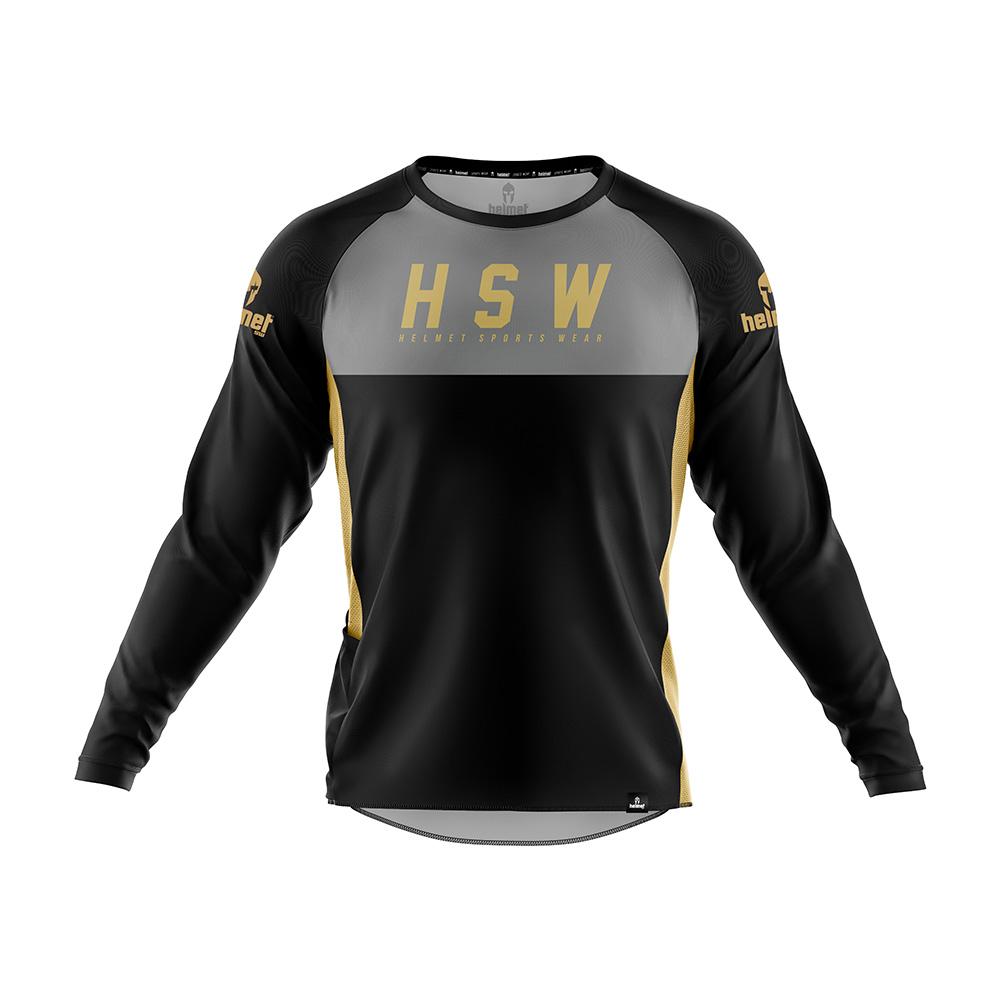 Camisa de DH Helmet SW Lettering