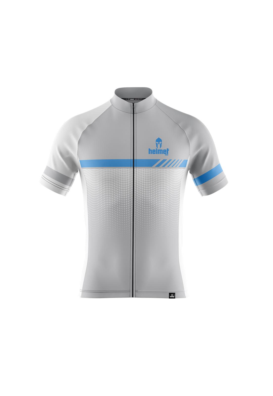 Camisa de XC Helmet SW Drizzle Branca Masculina