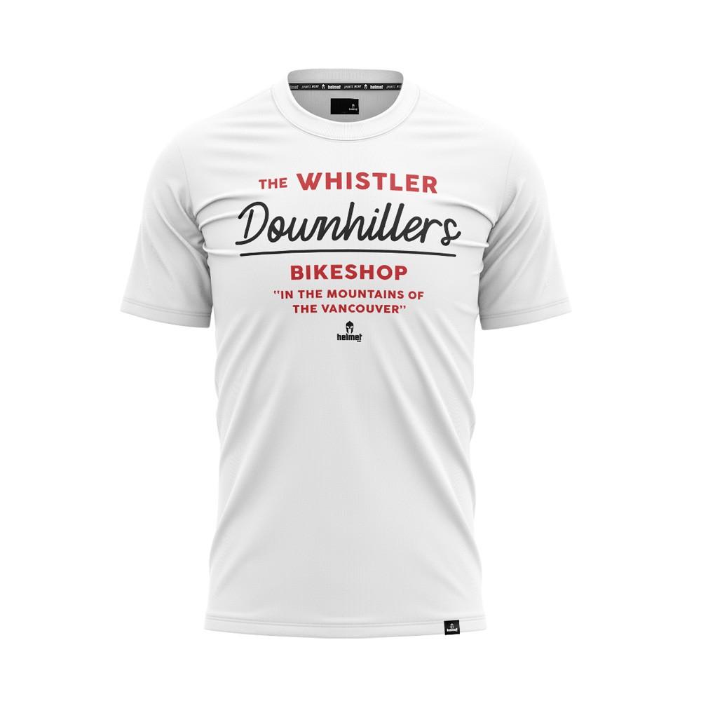 Camiseta Helmet SW Whistler Branca Masculina