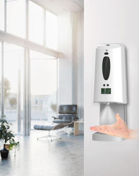 Dispenser Automático & Termômetro Geotan DHS-M