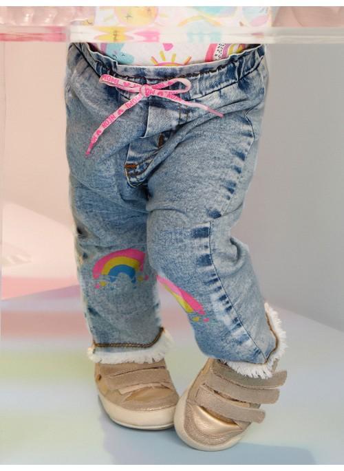 Calça Jeans Baby - Momi
