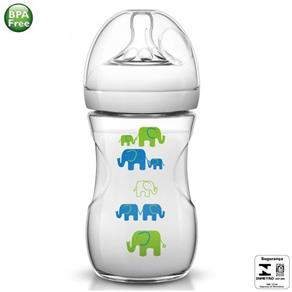 Mamadeira Avent Pétala Elefante Azul 260ml - Philips Avent