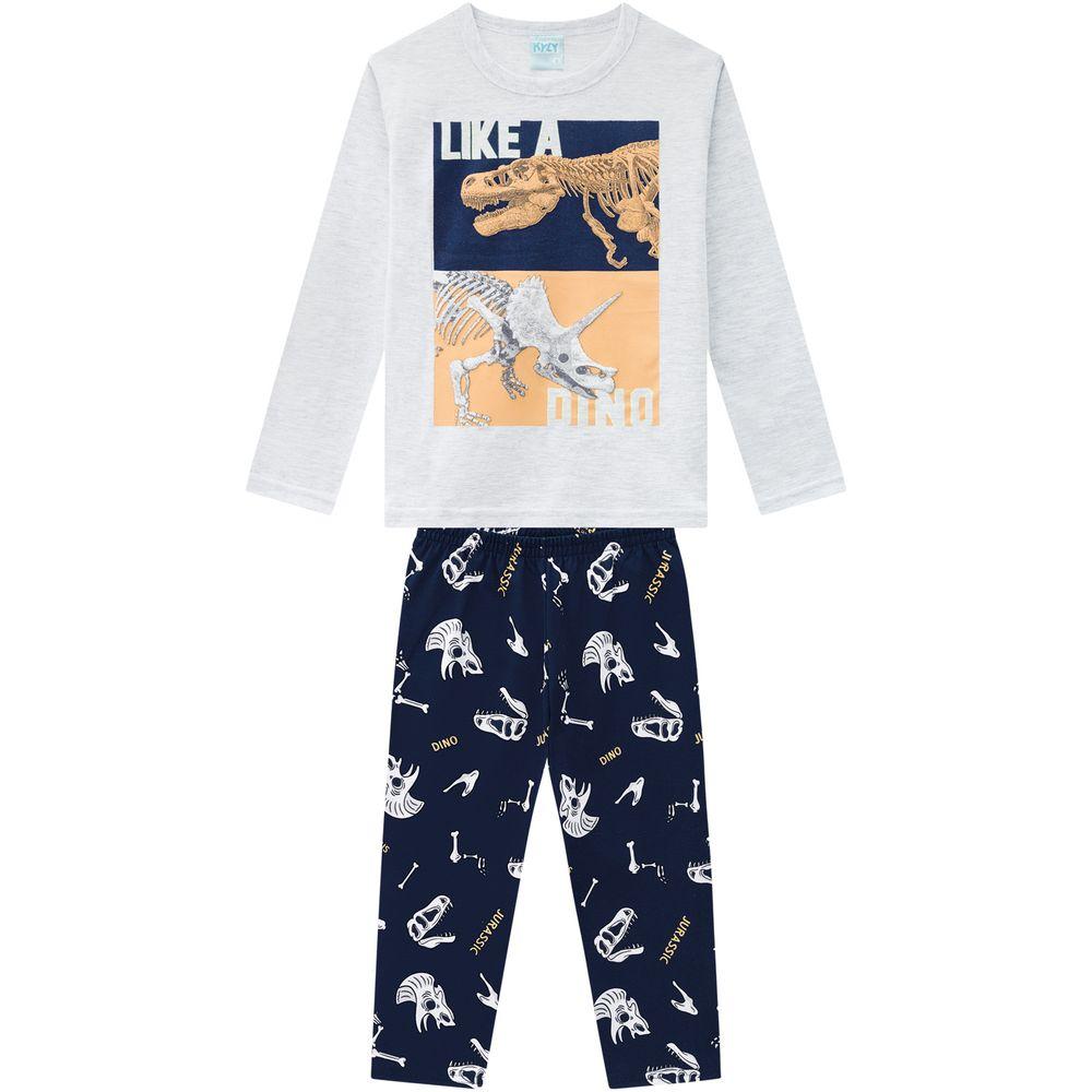 Pijama Manga Longa Dino - Kyly