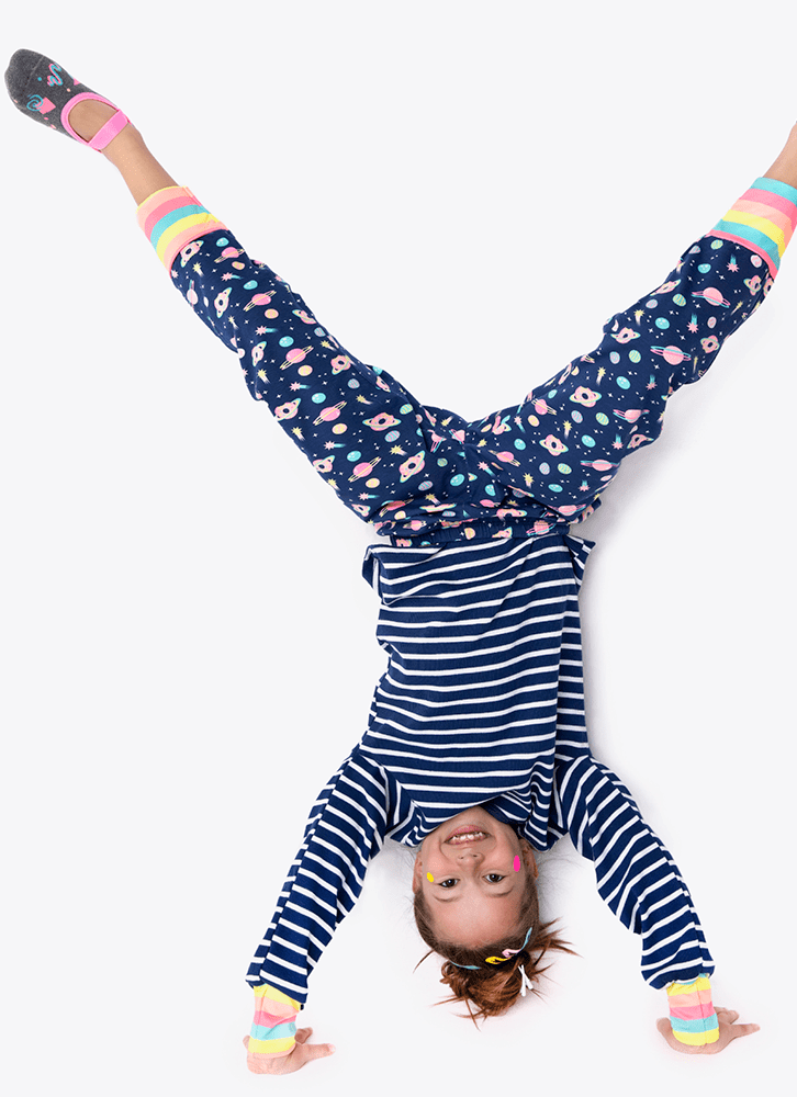 Pijama Lhama Space Marinho - Puket