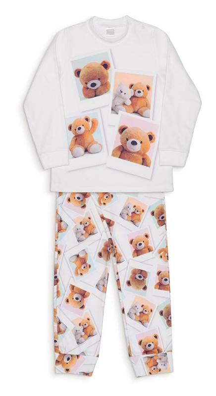 Pijama Ursas Polaroid Soft- Dedeka