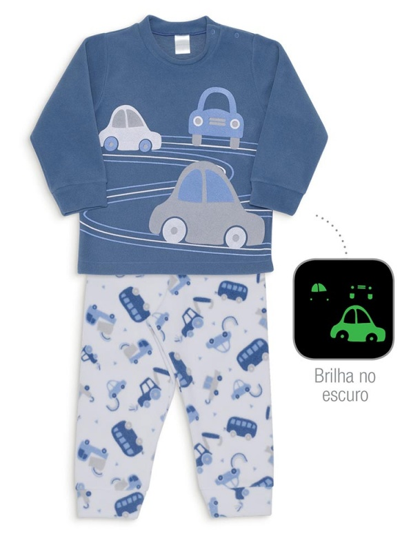 Pijama veículo soft- Dedeka