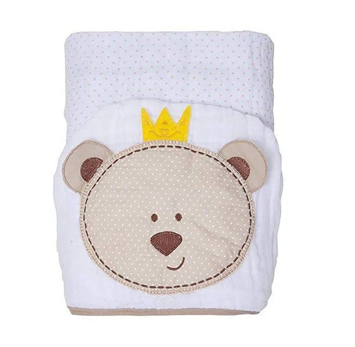 Toalha Soft Com Capuz Urso - Papi
