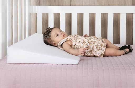 Travesseiro Antirefluxo para Berço Com Fronha Adicional- Thity