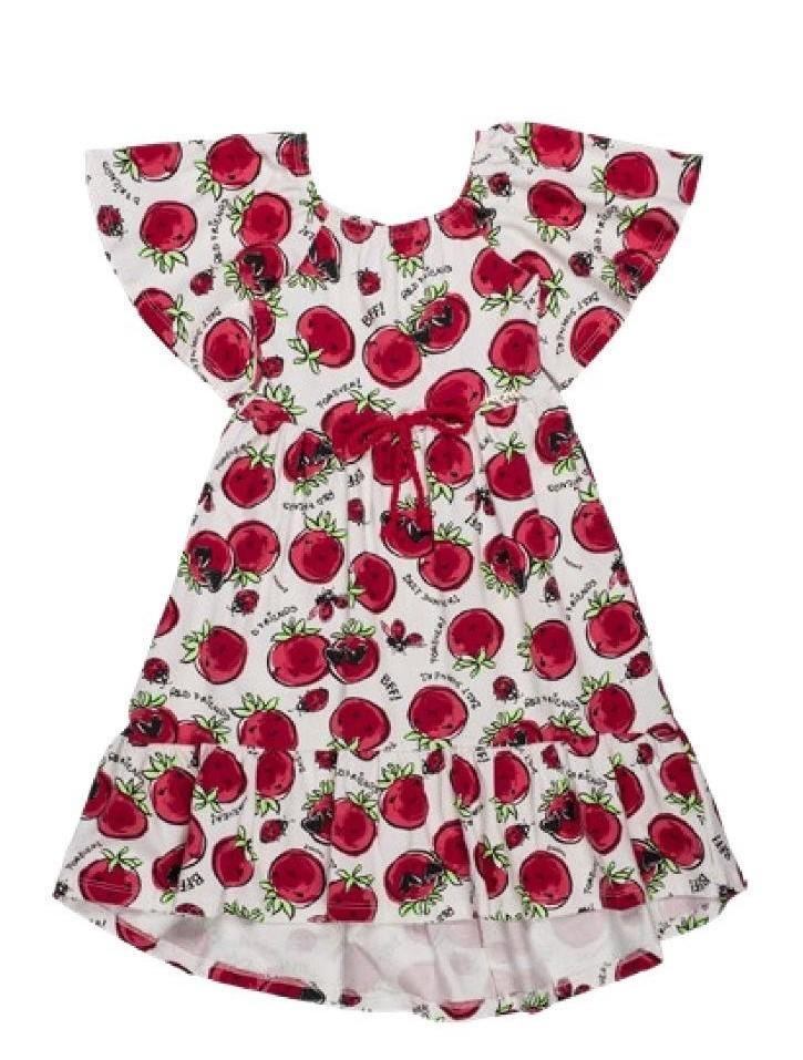 Vestido Tomatinhos - Momi