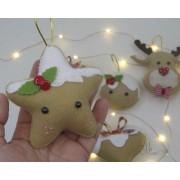 Enfeite de Natal Estrela