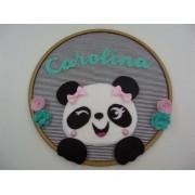 Enfeite de Porta Maternidade Panda