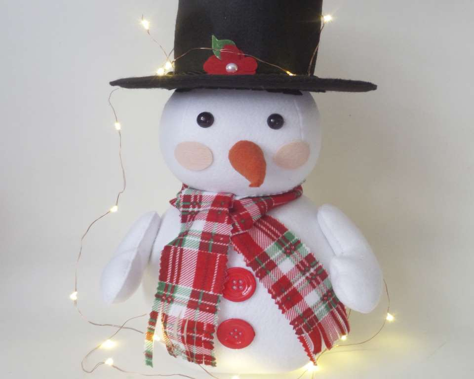 Boneco de Neve Enfeite de Natal