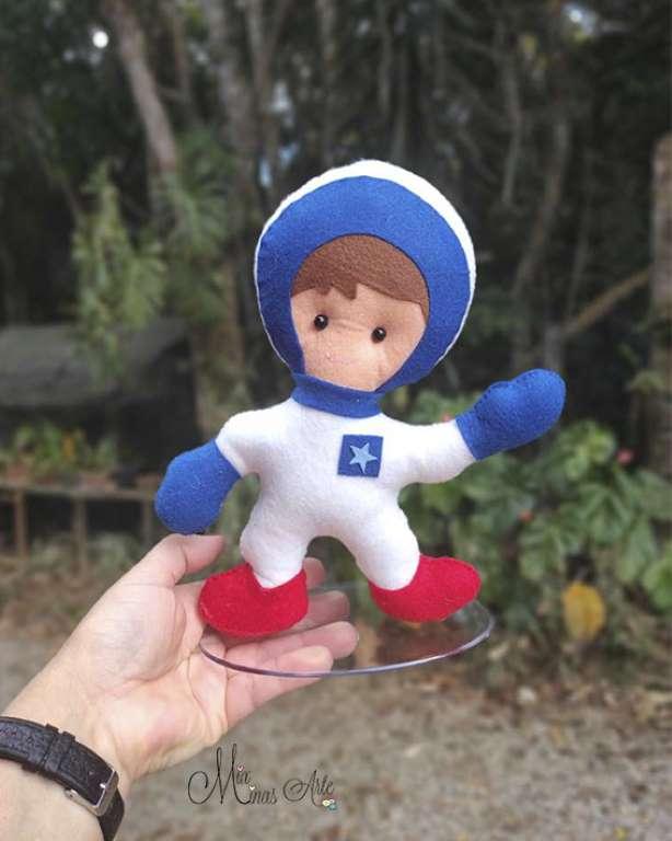 Decoração Tema Astronauta Kit 4 Itens