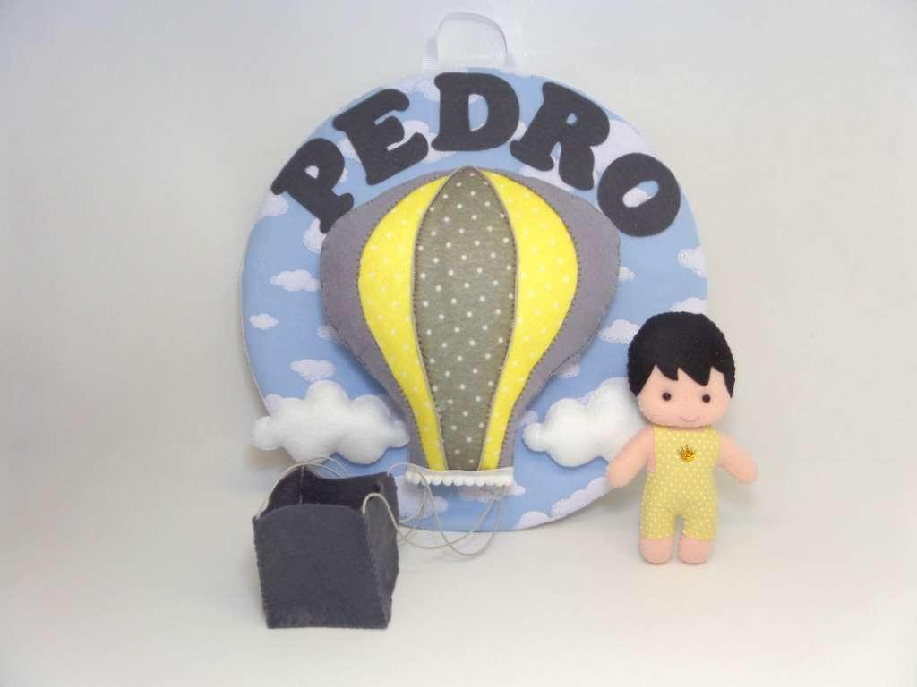 Enfeite de Porta Maternidade Balão