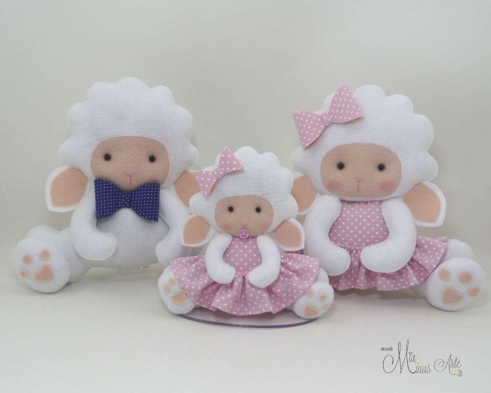 Família de Ovelhas para Nicho