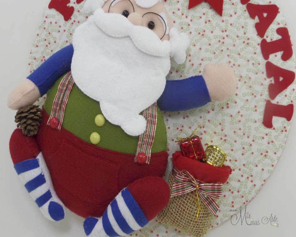Guirlanda Natal Papai Noel